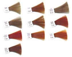 Shades Of Orange Colour Natural Hair Colour Shades Natulique Natural Colours