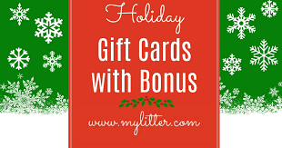 gift card offers hooray for bonus gifts bonus gift card offers 2017