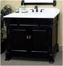 Lowes Bathroom Vanities  Inch Lowes Bathroom Vanities  Inch - Black bathroom cabinet with sink
