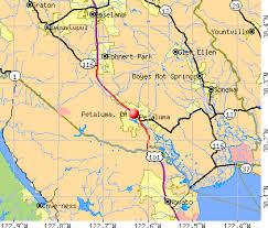 petaluma ca map petaluma california ca 94952 profile population maps