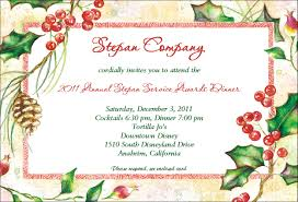 christmas invitation ideas template best template collection