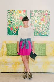 what the lilly pulitzer team wears to work color prints racked