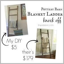 Pottery Barn Leaning Bookcase Diy Blanket Ladder Pottery Barn Knock Off Diy Blanket Ladder