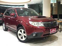 red subaru forester 2008 subaru forester 2 0xt platinum selection used car for sale