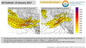 Ucsd Maps Cw3e Ar Update 19 January 2017 Outlook U2013 Center For Western