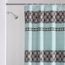 mainstays dimitri fabric shower curtain blue walmart com
