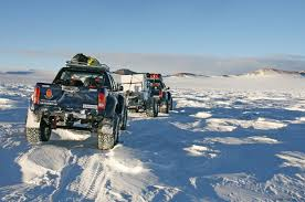 arctic maserati arctic trucks u0027 toyota hilux reaches south pole photos 1 of 2