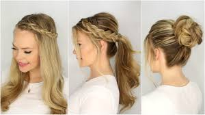 3 summer hairstyles missy sue youtube