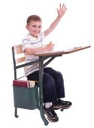 Kid School Desk No For Recess