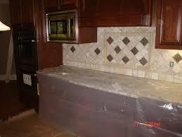 glass tile backsplash ideas huge craftsman eatin kitchen