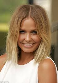 change of hairsyle 40 years old lara bingle has ditched the bob as femail look back at her