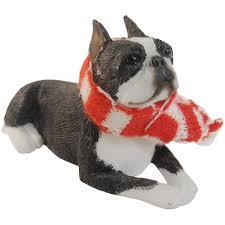 boston terrier ornaments at doggiechecks