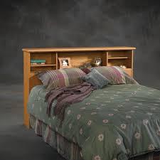 sauder orchard hills full queen bookcase headboard 401294