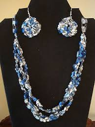 trellis ladder yarn necklace instructions the 75 best images about ladders on pinterest crochet necklace