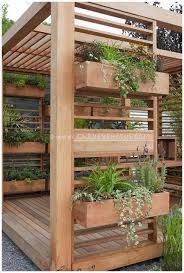 herb garden planter deck herb garden planter deck design and ideas