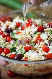 easy greek pasta salad spend with pennies