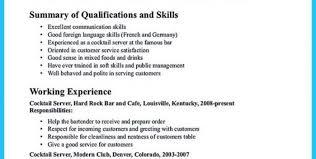 example of bartender resume bartender resumes samples