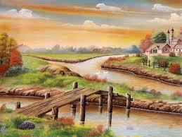 village hd scenery drawing hd wallpaper drawing sketch