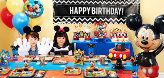 mickey mouse party ideas mickey mouse birthday party ideas birthday express