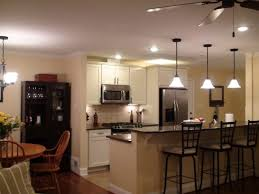 100 spacing pendant lights over kitchen island dining room