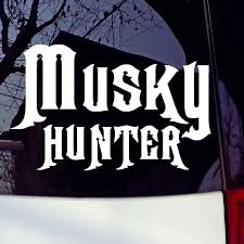 compare prices on free hunting decals online shopping buy low musky hunter vinyl car sticker funny fishing quote art car styling auto window laptop decorative hunting