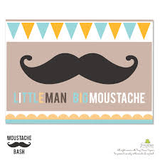 mustache invitations photo mustache bash baby shower image