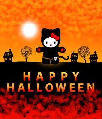 halloween background themes hello kitty halloween backgrounds wallpapersafari