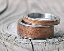 Stainless Steel Wedding Rings by Stainless Steel Ring Etsy