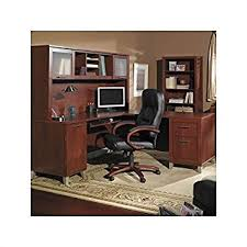 Bush Office Desks Bush Furniture Somerset L Shaped Wood Home Office Desk