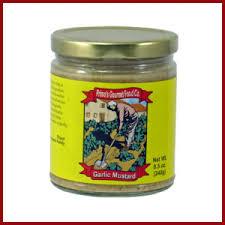 gourmet mustard primo s gourmet food company buy primo s garlic mustard