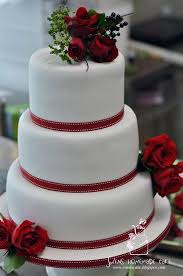 red and white cake for wedding amazing red and white wedding