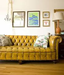 Yellow Leather Sofa Yellow Chesterfield Leather Sofa Leather Sofa Gallery Xtend