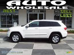 2011 jeep grand white 2011 jeep grand laredo in white 513668 vannsuv