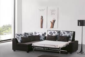 Modern Sofa Bed Sectional Modern Fabric Sleeper Sectional With Storage Minnesota 1 899 00