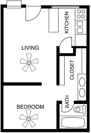 One Bedroom Apartment Plans And Designs Marvelous Decoration One Bedroom Apartment Floor Plans House One