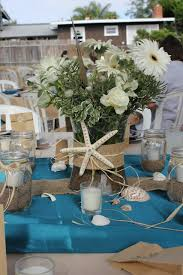 beachy centerpieces themed centerpiece for a wedding and celebrations
