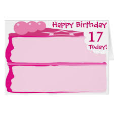 17th birthday cards greeting u0026 photo cards zazzle