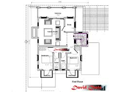 garden house triplex house plan adroit architecture