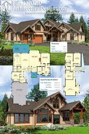 House Plans Master On Main by 101 Best Craftsman House Plans Images On Pinterest Craftsman