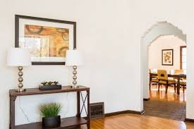 Bathroom In The Kitchen Dreamy Spanish Style House With Exposed Beams In Leimert Park Asks