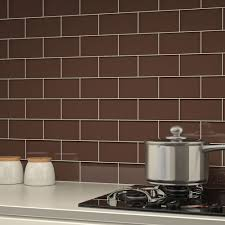 classic brown subway glass tile wholesalers usa