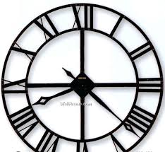 black wrought iron table clock black kitchen clocks large wall grey for wrought iron clock plans 4