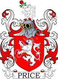 price coat of arms meanings and family crest artwork search