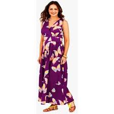 buy new ladies summer maxi dress butterfly print full length