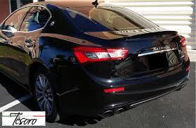 maserati levante trunk 2014 2017 maserati ghibli tuner style rear trunk lip spoiler