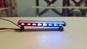 chp code 1141 1 18 police diecast lightbar with led lights 19 patterns youtube