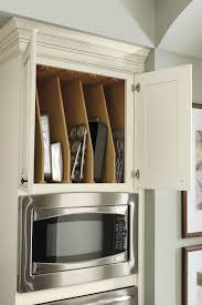 kitchen cabinet tray dividers oven cabinet tray divider schrock cabinetry
