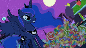 image luna smiling at candy s2e4 png my little pony friendship