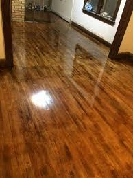 can you stain hardwood floors darker wood floors