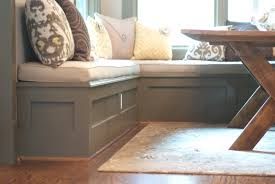 breakfast nook table with bench building a kitchen nook bench awesome homes types of kitchen